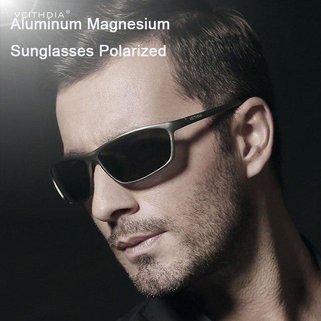 Driving Sunglasses Men Polarized Glasses Gafas de Sol Hombre Aluminum Magnesium Alloy