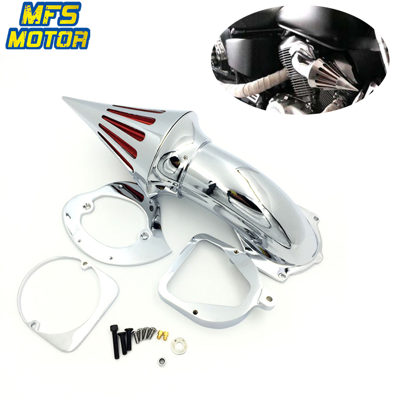For 98 13 Honda Shadow Spirit 750 ACE 750 Spike Cone Air Cleaner Intake Filter Kit Motorcycle Accessories Parts 1998 1999 2013