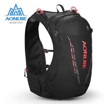 AONIJIE Lightweight 10L Hydration Backpack Pack Rucksack Bag Water Bladder Hiking Running Bags Marathon Race Cycling TrailRunner