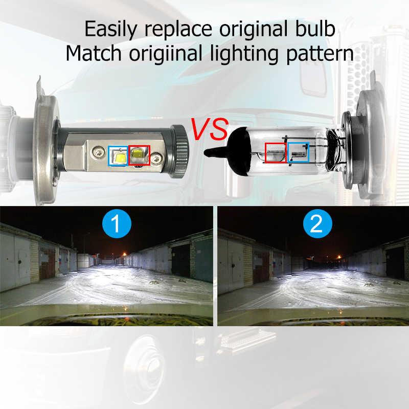 CNSUNNYLIGHT H4 Hi/Lo H7 H11 9005 9006 Led Car Headlights 8000lm 3000K 4300K 6000K High Brightness Auto Lights Conversion Kit