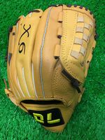 High quality! DL 12 Inch 12.5 Inch Super soft cowhide baseball gloves softball infielder gloves,Free shipping!