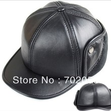 f16e4a5f winter real sheepskin Leather Newsboy Hats casual HAT CAP 7pcs lot 3101