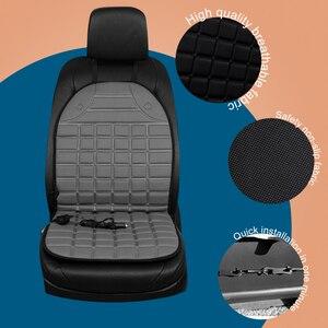 Image 3 - Car seat electric heating pad 12V Heated Car Seat Cushion Winter Auto Cushion Seat Cover Heated Seat Cushion
