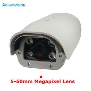 Image 2 - Onvif 1080P 2MP IR LED Xe Giấy Phép Biển Số Công Nhận 5 50Mm Ống Kính Varifocal LPR Camera IP cho Quốc Lộ & Bãi Đậu Xe
