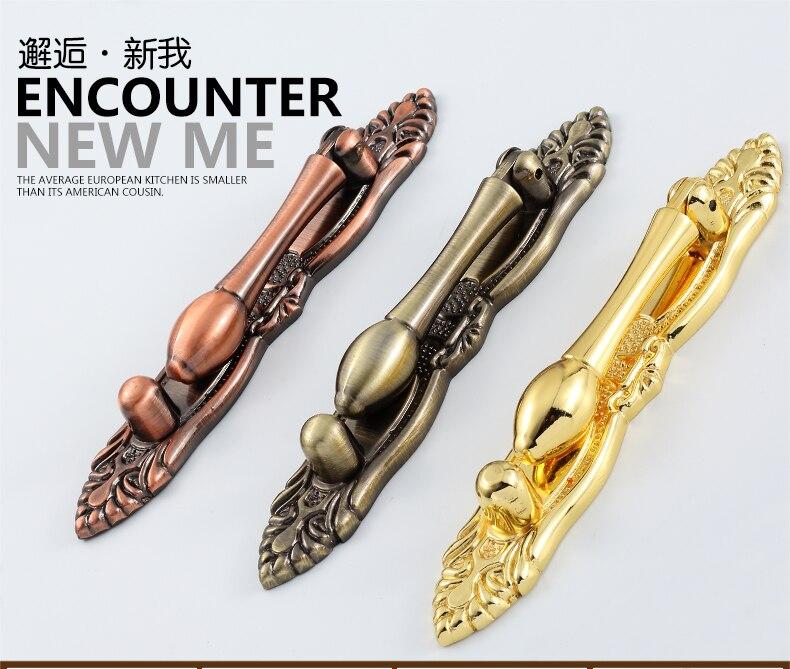 Европейские классические ручки ящика для шкафчика и двери шкафа обуви
