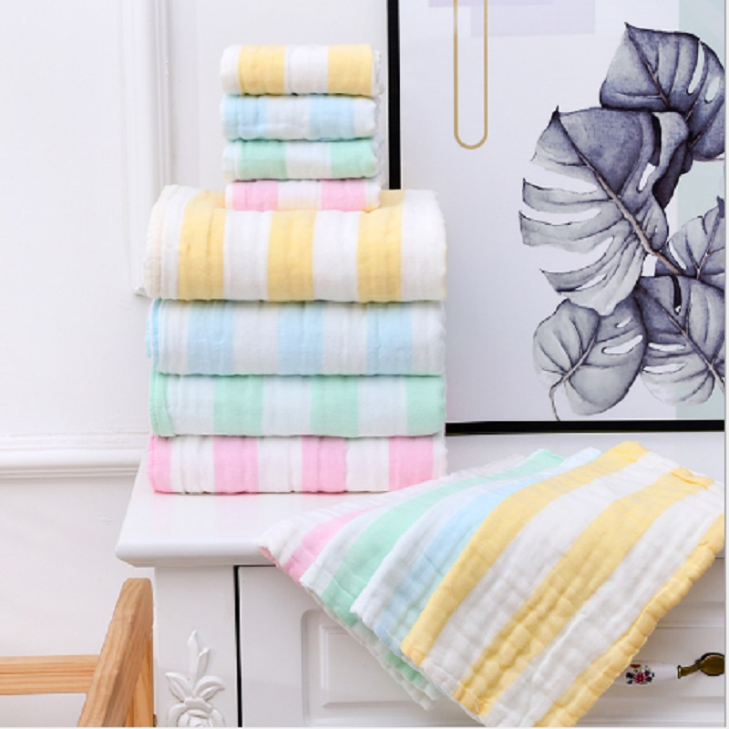 Baby Blanket Newborn Blankets Bath Towel Gauze Baby Swaddles Soft Infant Wrap 100 Cotton Baby Stroller Cover Play Mat 100 110cm in Blanket Swaddling from Mother Kids