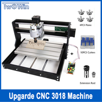 Upgrade CNC 3018 Pro GRBL Control Diy mini cnc Machine,3 Axis pcb Milling Machine,Wood Router Laser Engraving with Offline