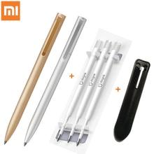 Xiaomi Mijia металлический знак ручка 0,5 мм ручка для подписи PREMEC гладкая швейцарская заправка MiKuni японские чернила