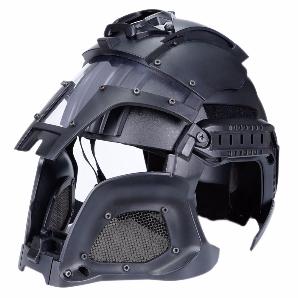 WoSporT 2018 Tactical Helmet Military Ballistic Side Rail NVG Shroud Transfer Base Outdoor Sports Army Combat Airsoft Paintball цена