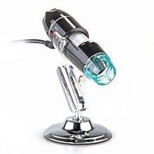 FSLH-Портативный 5MP 50X-500X Увеличение 8-LED USB Цифровой Микроскоп Эндоскопа с Подставкой для Образования Промышленной Biologica
