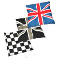 1 pcs For MINI cooper countryman JCW Grid British flag Union Jack Car seat Decoration mat Car interior accessories cushion
