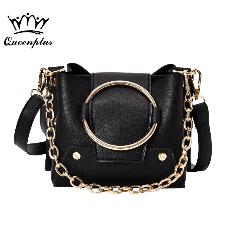 2017 Bolsas Femininas Women's Handbag Women Shoulder Bag PU Leather Fashion Messenger bags Femme Sac A main ring rivet hot sale tassel women bag leather handbags cross body shoulder bags fashion messenger bag women handbag bolsas femininas