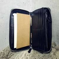 DIY leather craft man cell phone hand bag card holder zipper wallet die cutting knife mould hand machine punch tool template