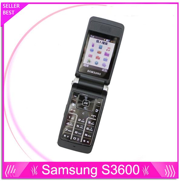 Original samsung s3600 s3600 s3600 abrió el teléfono móvil del teléfono teclado ruso ayuda envío gratis