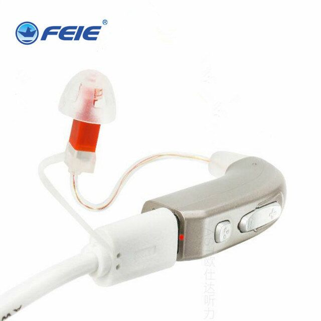Chinese new innovative product USB mini rechargeable RIC hearing aid with adaptive noise reduction MY-33 hearing enhancement