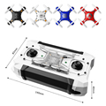 FQ777-124 Pocket Drone 2.4G 4CH 6Axis Gyro Quadcopter Remote Control Switchable Controller RTF Toys Mini Drone
