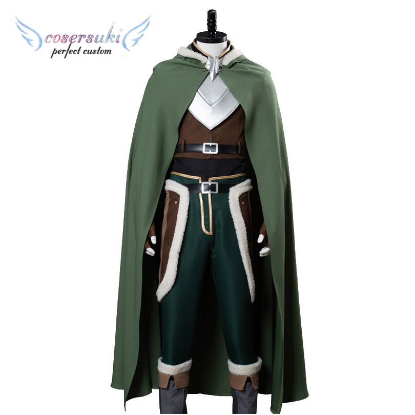 Rising Shield Hero Iwatani Naofumi Cosplay Costumes Clothes Perfect Custom for You