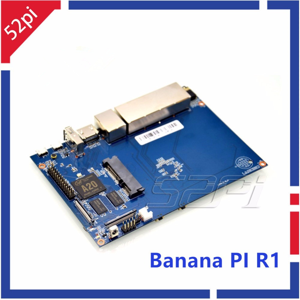 Banana Pi R1 wireless Router Opensource development board, BPI-R1 smart home control plate Free shipping banana pi r1 wireless router open source development board bpi r1 smart home control plate