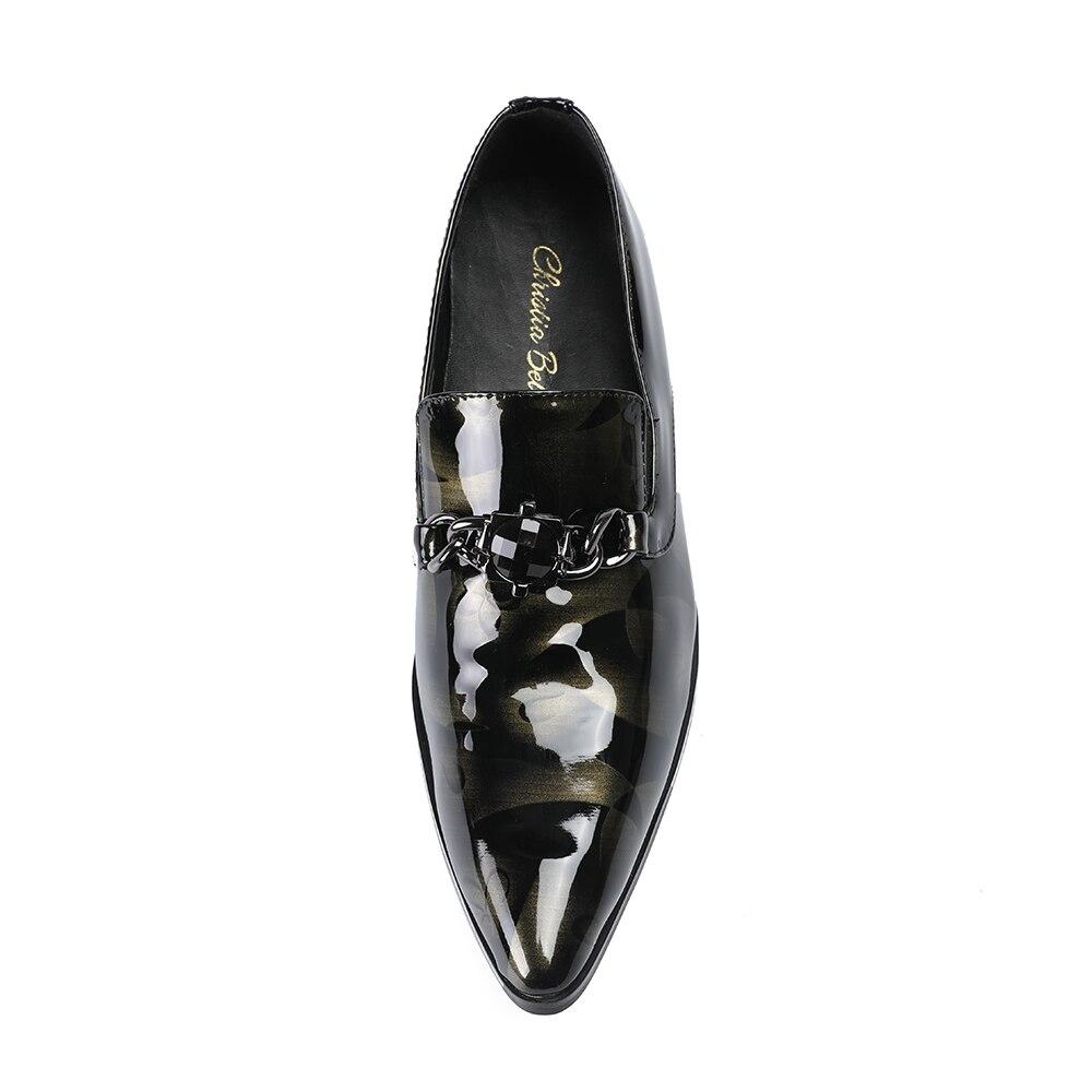Homens Casamento Vestir Design Luxo Marrom Couro Apontou Baixos De Oxford Britânicos Sapatos Toe Moda Genuíno Christia Bella qfwcU