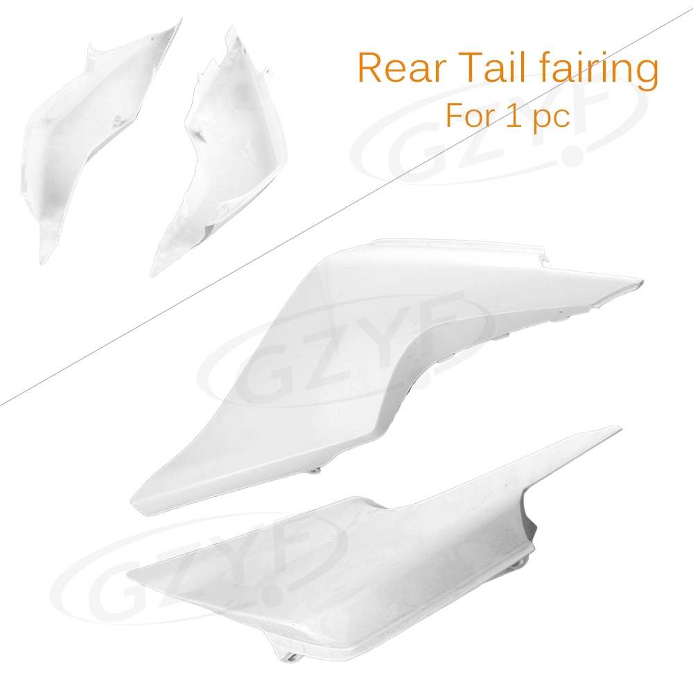 Unpainted Tail Rear Fairing Cover Bodykits Bodywork for Honda VFR1200 2010 2011 2012 2013, Injection Mold ABS Plastic plastic led light cover mold makers