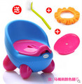 Free shipping QQ style child toilet baby toilet seats plastic portable infant baby toilet potty training chair seat splash guard