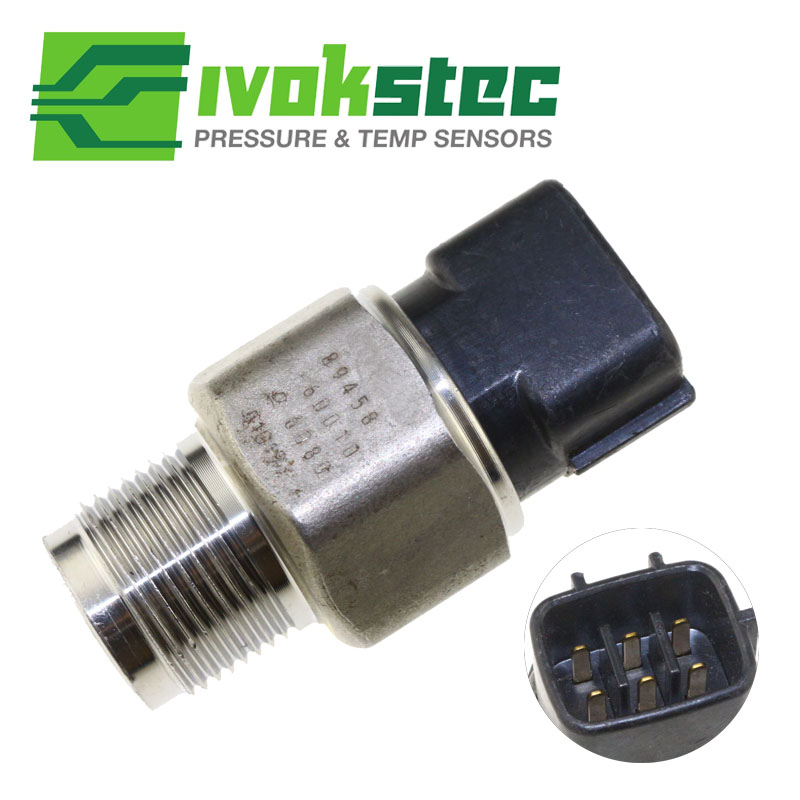 Fuel Rail Pressure Sensor For Toyota Hino Hiace Hilux Prado 3 0 D4D 499000 6080 89458