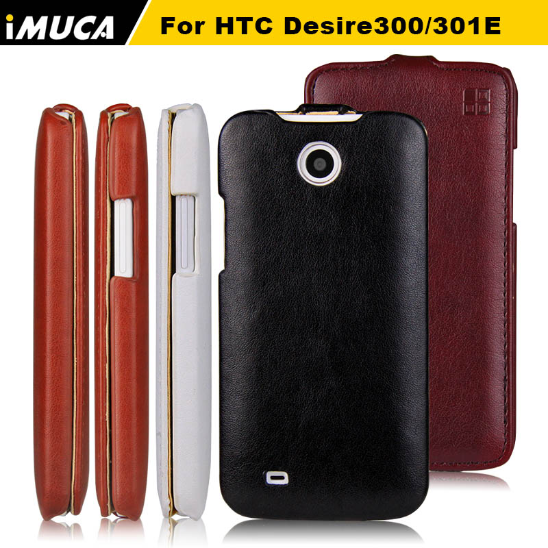 Para htc desire 310 flip caso cubierta de cuero casos para htc 310 d310w caso im