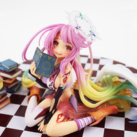 15cm No Game No Life Figure Toys Flueqel Jibril PVC Action Figure Toys Little Shiro Angel beautiful doll model girls best gifts