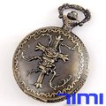 wholesale New Vintage Full Hunter Pocket Watch Chain Cross
