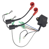 1 Set CDI Ignition Coil Electronic Power Unit Parts for Yamaha 9.9HP 15HP 2 Stroke