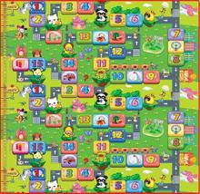 Купить с кэшбэком mat for children baby play mat the puzzle for kids building mat more size speelkleed baby rugs tapete infantil
