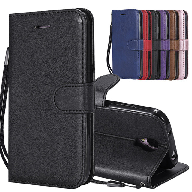 For Funda Samsung Galaxy S4 Case Leather Wallet Phone Case Samsung S4 Case Luxury Flip Leather Cover For Galaxy S4 Case Wallet