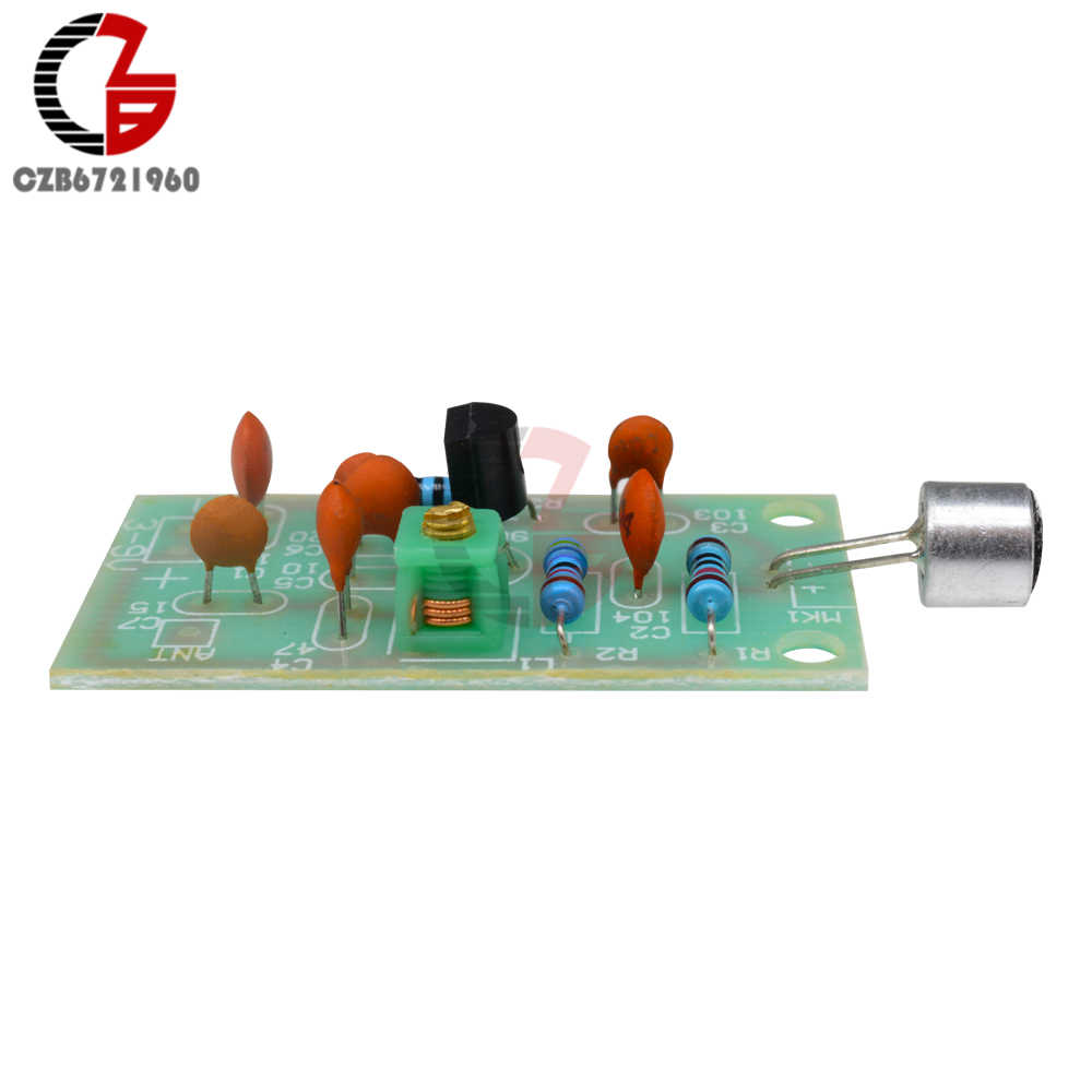 Detail Feedback Questions About 2pcs Fm Transmitter Module Dc 3v 5v Mini Circuit Wireless Microphone Radio Pcb Board 91