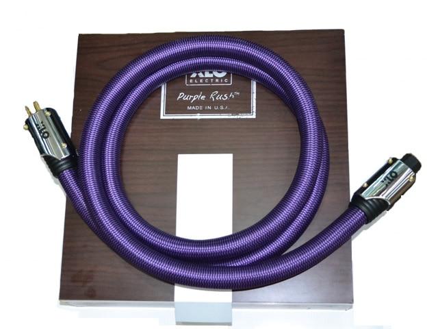Free shipping 2 meter/pieces XLO Purple Rush HIFI EU Schuko US AC Audiophile Power cable  without box rush rush power windows lp