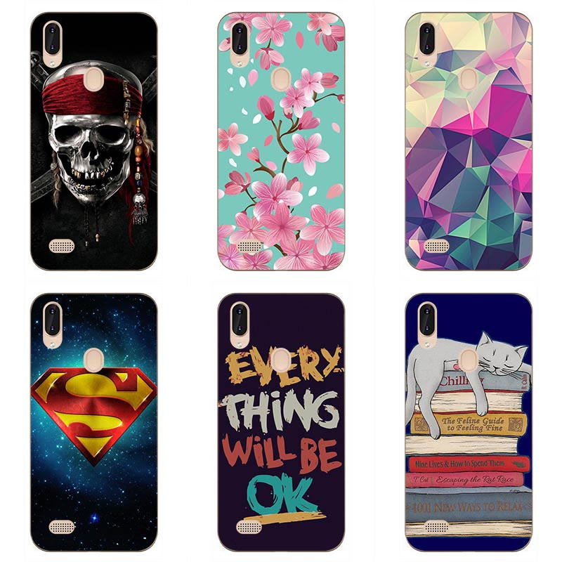 Soft Tpu Phone Case Colour Mobile Phone Shell For Leagoo M11 Soft Silicon Phone Case Colorful Painting Skin Shell