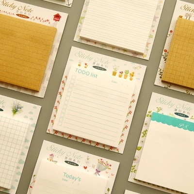 60 Feuilles Ensemble Colore Bloc Notes Diy Poste Tous Les Jours