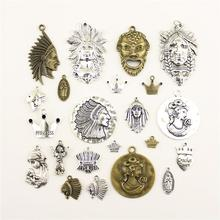 Fashion Jewelry Making Chieftain Of The Virgin Mary Princess Crown Findings Components Mix Pendant