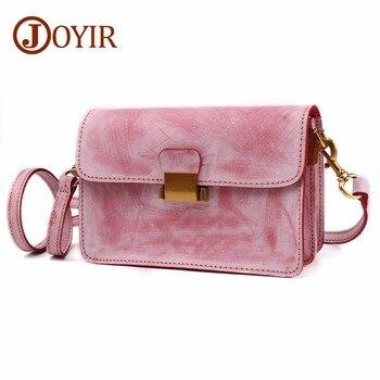 JOYIR Fashion Women Messenger Bag Genuine Leather Female Shoulder Bag Crossbody Bags Hign Quality Designer Luxury Brand Bag 8686