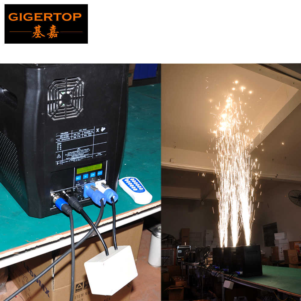Detail Feedback Questions about Remote DMX Control Stage Cold Spark
