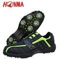 Nova HONMA golfe sapatos sapatos de golfe sapatos calçados esportivos Japoneses de Microfibra respirável