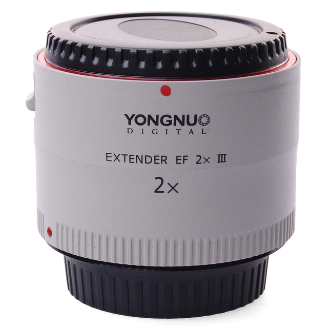 Yn iii extensor ef 2x telefoto 2.0x teleconverter para canon eos ef lente lf470