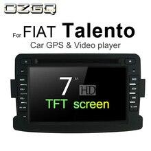 OZGQ Android 7,1 dvd-плеер автомобиля для FIAT Talento 2016-2018 Экран Авто gps навигации Bluetooth Радио ТВ аудио видео Стерео