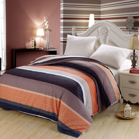 Modern Simple Fashion High Quality 100 Cotton Comfortable Soft And Elegant Stripe Pattern Quilt Cover Striped