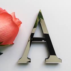 Новинка 2019 года diy наклейки на стену 3d стикеры акриловые украшения свадебный подарок любовные буквы декоративные алфавит Настенный декор