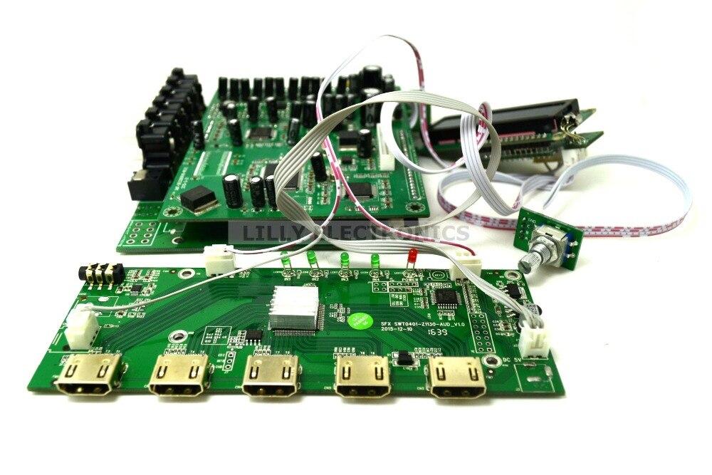ZY-DTS8HD 7.1 Canaux Décodeurs Décodage Conseil DTS AC3 3D HDMI 1.4 DTS Décodeurs