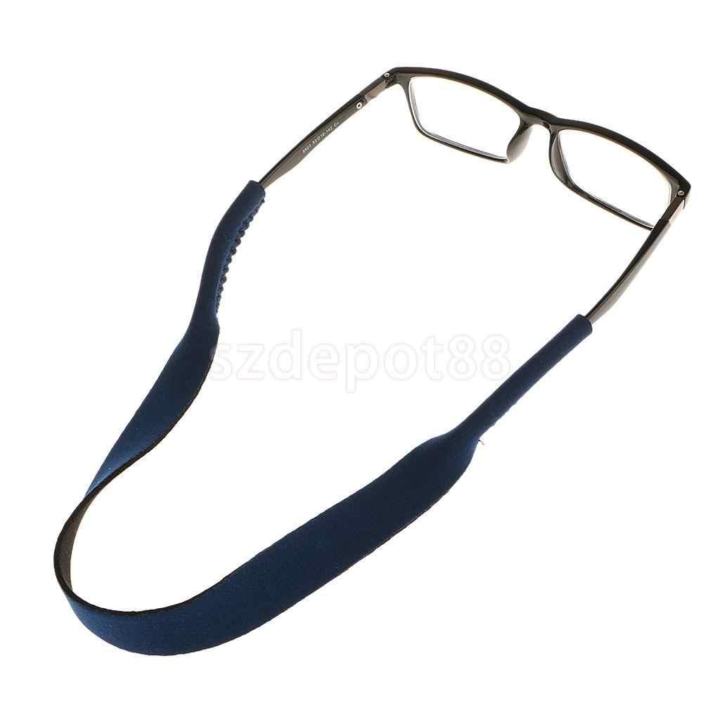 Neoprene óculos de sol esporte de pescoço retentor, banda com 6 cores opcionais