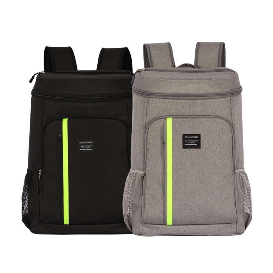 Nouveau Oxford grand sac isotherme épaissir grand sac thermique pour canettes alimentaire emballage conteneur livraison sacs Portable sacs à Lunch Pack de glace