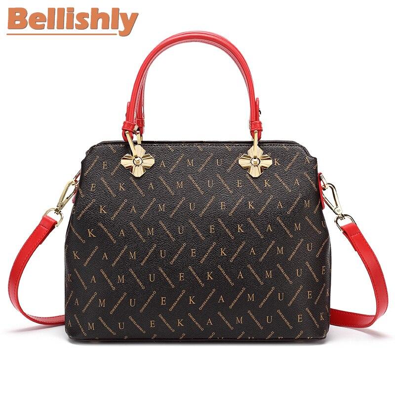 Vintage Vuitton Luis En Handle Designer Sacs Cuirs De Bellishly Red 34L5RqAj