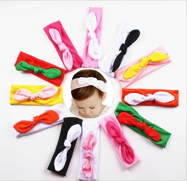 Girls Hair Accessories Colored Rabbit Ears Explosion Models New
