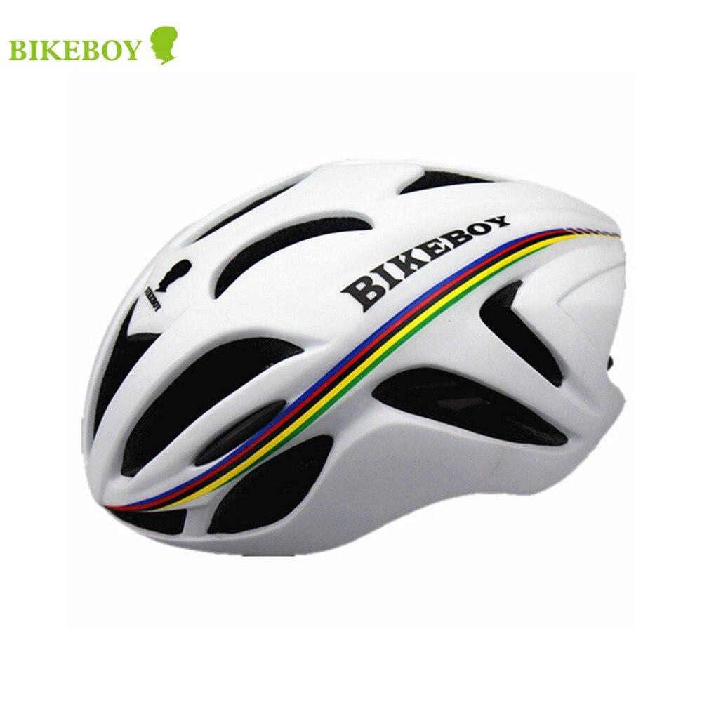 New 2016 Top quality Integrally Molded BIKEBOY Bicycle font b Sports b font Helmet Ultralight Cycling